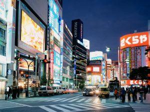 shibuya night wallpaper