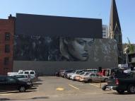 lady mural
