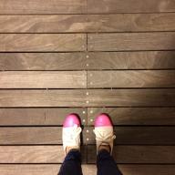 sidewalk decking