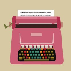 populaire typewriter