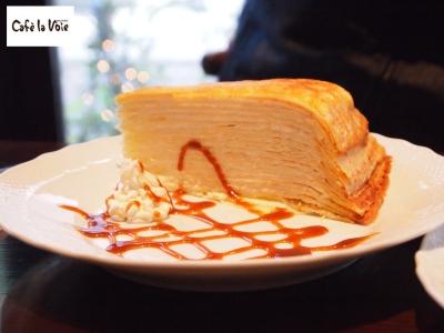la voie crepe cake