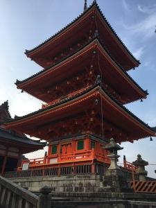 large pagoda near the entrance