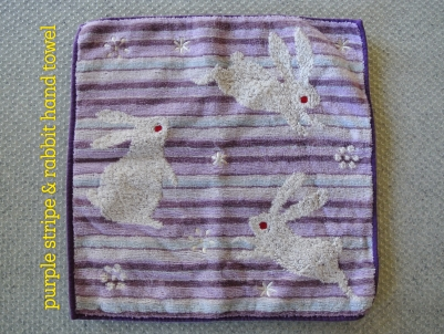 rabbit-hand-towel