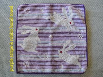 rabbit-hand-towel