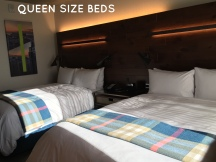 We had one king bed.