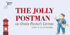 jolly postman book banner