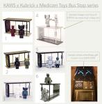 Kaws bus stopcollage
